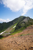 Mountain. The Nature textures of Russia. Yekaterinburg Stock Image