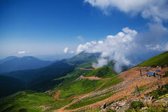 Mountain. The Nature textures of Russia. Yekaterinburg Royalty Free Stock Image