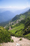 Mountain. The Nature textures of Russia. Yekaterinburg Stock Photos