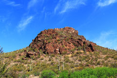 Mountain Near La Selvilla Area in Colossal Cave Mountain Park Royalty Free Stock Photography