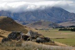 Mountain in New zealand Stock Photos