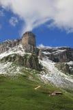 Mountain next to the Klausenpass Royalty Free Stock Image