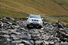 Mountain Nissan X-TRAIL Journey Royalty Free Stock Image