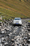 Mountain Nissan X-TRAIL Journey Stock Images