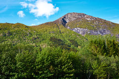 Mountain in norway Stock Photos