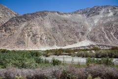 Mountain in Nubra Valley, Ladakh, India Stock Photo