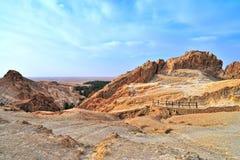 Mountain oasis Chebika Royalty Free Stock Photo
