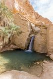 Mountain oasis Chebika in Sahara desert, Tunisia Stock Photography