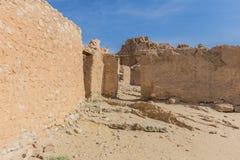 Mountain oasis Chebika in Sahara desert, Tunisia Stock Images