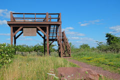 Mountain Observation Tower Royalty Free Stock Image