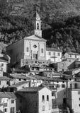 Mountain old village Luseram, France. Stock Photos