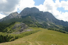 Mountain. One of the most beautiful mountain peaks in Bosnia and Herzegovina Stock Photos