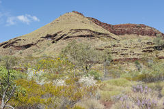 Mountain Outback Australia Royalty Free Stock Photos