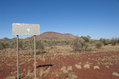 Mountain Outback Australia Stock Images