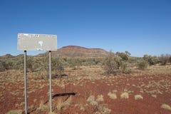 Mountain Outback Australia stock images