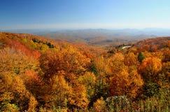 Mountain Overlook in Autumn Royalty Free Stock Image