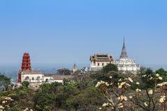 Mountain palace Stock Photos