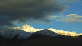 The Mountain in the pamirs Royalty Free Stock Photography