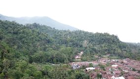On the mountain. At pandeglang banten west java indonesia stock video