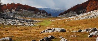 Mountain panorama Stock Photography