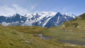 Mountain panorama Royalty Free Stock Photography