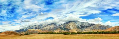 Mountain panorama Stock Images