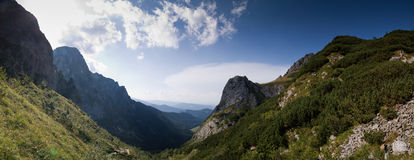 Mountain panorama Royalty Free Stock Images
