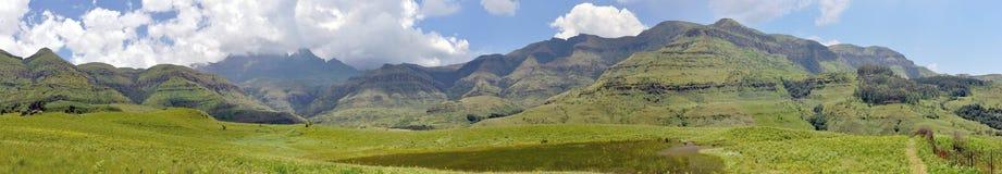 Mountain panorama Royalty Free Stock Images