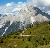 Mountain Panorama - Dolomiti, Italy Stock Photos