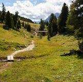 Mountain Panorama - Dolomiti, Italy Stock Photos