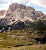 Mountain Panorama - Dolomiti, Italy Royalty Free Stock Photos