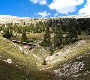 Mountain Panorama - Dolomiti, Italy Stock Image