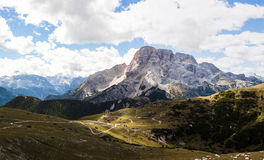 Mountain Panorama - Dolomiti, Italy Stock Image
