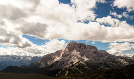 Mountain Panorama - Dolomiti, Italy Stock Photography