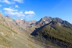 Mountain panorama, Hohe Tauern Alps, Austria Stock Image