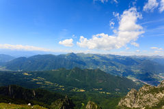 Mountain panorama, Italy Stock Photography