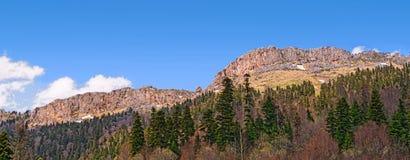 Mountain panorama Stock Image
