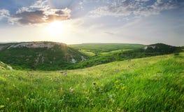 Mountain panorama landscape. Royalty Free Stock Photo