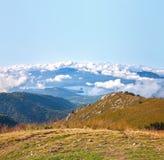 The mountain panorama Royalty Free Stock Photo