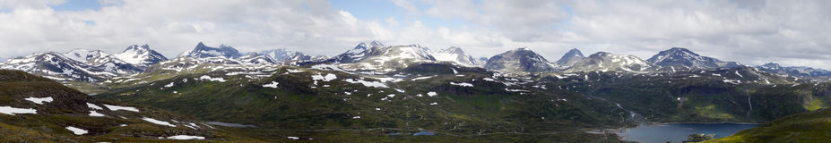 Mountain Panorama (Norway) Stock Photography