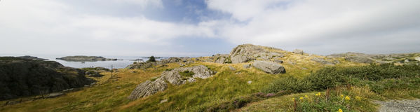 Mountain panorama, Norway Stock Images
