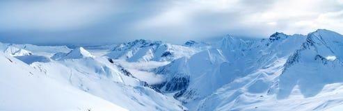Mountain panorama. Panoramic views of the mountains Royalty Free Stock Photos