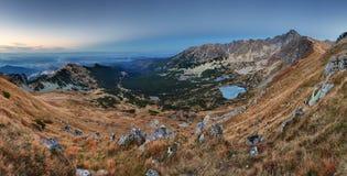Mountain panorama  in Poland Tatras - Rohace , Slovakia Stock Image