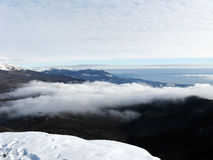 mountain panoramic Στοκ Εικόνες