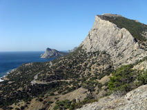 Mountain panoramic Royalty Free Stock Photo