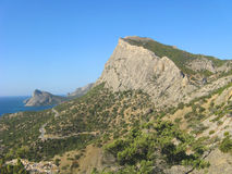 Mountain panoramic Royalty Free Stock Image