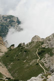 Mountain panoramic view Royalty Free Stock Photo