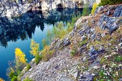 Mountain park Ruskeala Stock Image