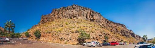Mountain parking Royalty Free Stock Image