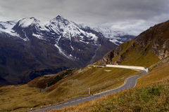 Mountain Pass Royalty Free Stock Photos